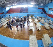 Portelão terá até 150 leitos para acolhimento emergencial na quarentena