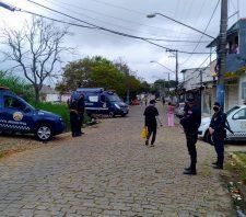 GCM realiza patrulhamento e bloqueio no Jardim Belém