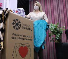 Suzano participa do lançamento da campanha 'Inverno Solidário'