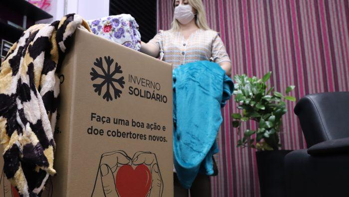 Fundo Social reforça arrecadação no 'Inverno Solidário'