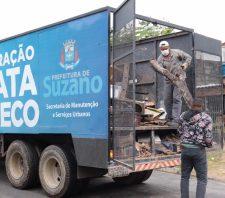 Operação Cata-Treco inicia coleta de materiais em sete bairros
