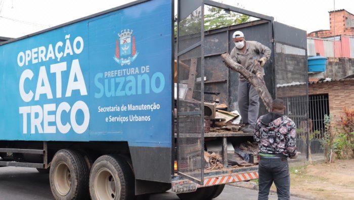 Operação Cata-Treco atenderá mais três bairros a partir desta terça-feira