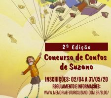 Secretaria de Cultura divulga vencedores do 2º Concurso de Contos de Suzano