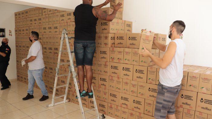 Fundo Social recebe mais de 9 mil kits de higiene do governo do Estado