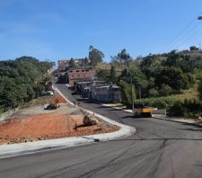 Serviços de pavimentação são concluídos no Jardim Carla