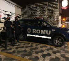 GCM detém acusado de tráfico de drogas no Jardim Alterópolis