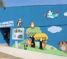 Prefeito apresenta nova escola a moradores do Nova América