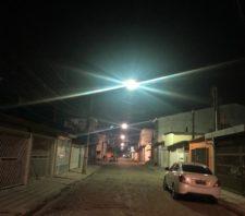Jardim Nena ganha nova iluminação pública