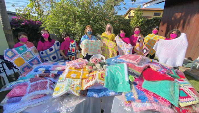 Fundo Social recebe cem mantas por meio de ação voluntária