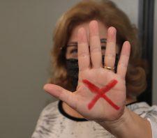 Saspe reforça divulgação da campanha 'Sinal Vermelho Para a Violência Doméstica'