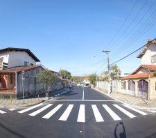 Após receberem asfalto, ruas São Luiz e Ipiranga ganham nova sinalização