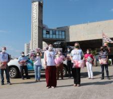 Fundo Social recebe cobertores da Sabesp e alimentos da Expresso Nepomuceno Cargas