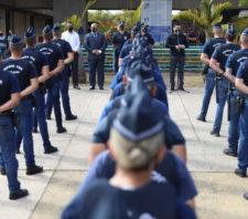 Prefeito anuncia mudança no comando da GCM e apresenta 56 novos agentes