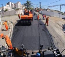 Trabalhos de recuperação viária continuam na Vila Figueira