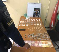 GCM detém três acusados de tráfico de drogas na Vila Fátima