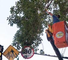 Equipes de zeladoria intensificam trabalhos por toda a cidade