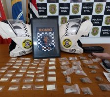 GCM detém acusado de tráfico de drogas no Jardim Dona Benta