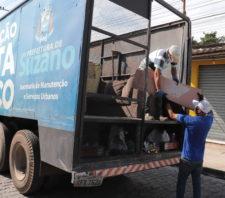Operação Cata-Treco realiza coleta de materiais em sete bairros