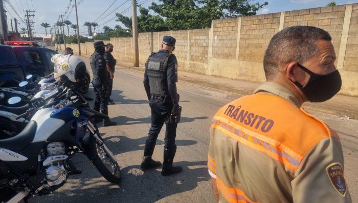 Operação conjunta intensifica fiscalização em Suzano