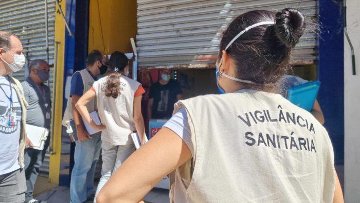 Vigilância Sanitária de Suzano notifica 16 estabelecimentos não essenciais