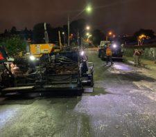 Rua da Cidade Edson recebe nova pavimentação