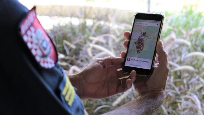 Fiscalização ambiental passa a contar com mapa de monitoramento