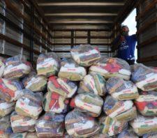Estoque do Fundo Social recebe mais uma tonelada de alimentos
