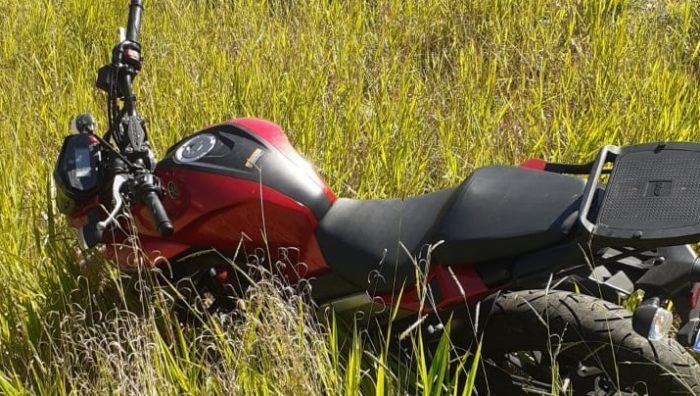 GCM recupera moto roubada no Jardim Leblon