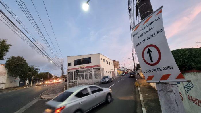 Rua Santa Isabel passa a ser mão única na Cidade Edson
