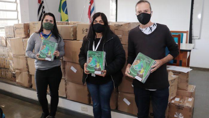 Fundo Social recebe 10,4 mil itens em doação de materiais escolares