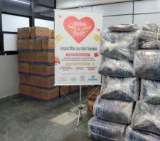 Fundo Social de Solidariedade recebe doação de 115 cobertores