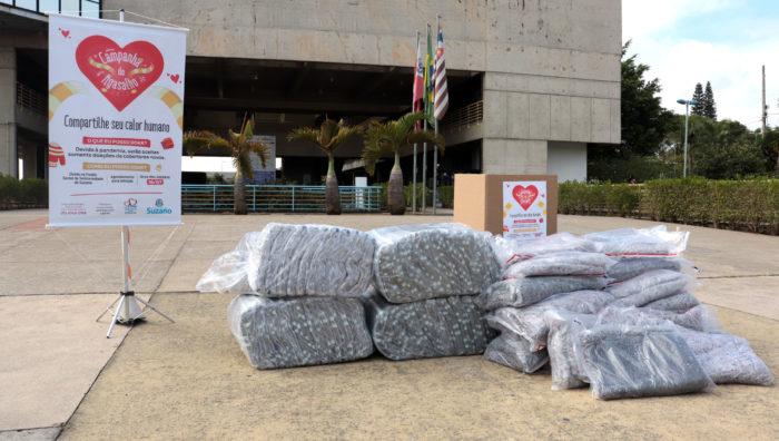 Campanha do Agasalho de Suzano recebe mais 50 cobertores da SPMar