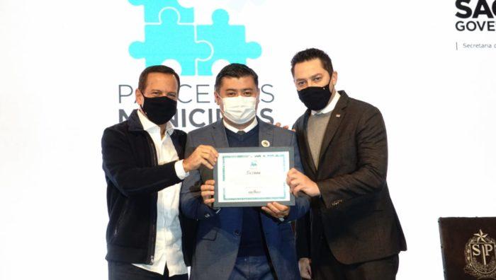 Suzano vence prêmio estadual de Práticas Inovadoras