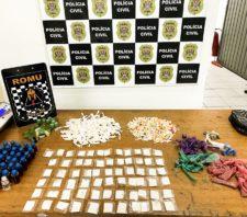 GCM apreende 4,9 quilos de drogas em operações pela cidade