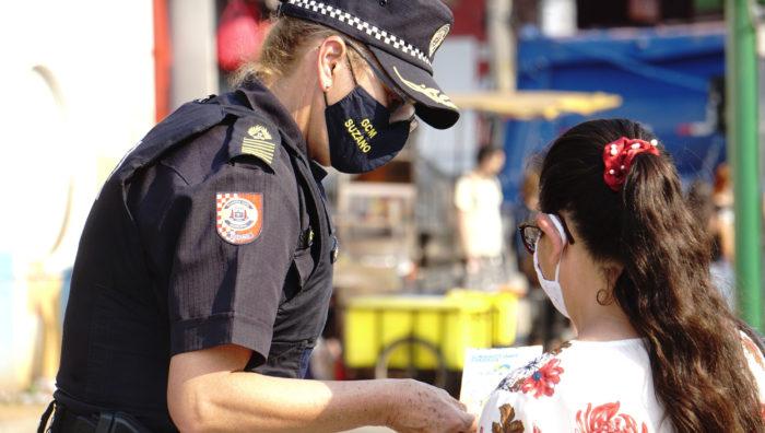 Patrulha Maria da Penha segue com ações de proteção às mulheres em Suzano