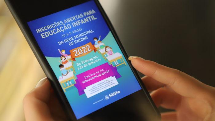 Educação de Suzano encerra inscrições antecipadas para 2022 neste domingo