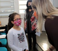 Programa Boa Visão realiza ação pontual com nove crianças