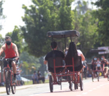 Parque Max Feffer volta a receber público em Suzano