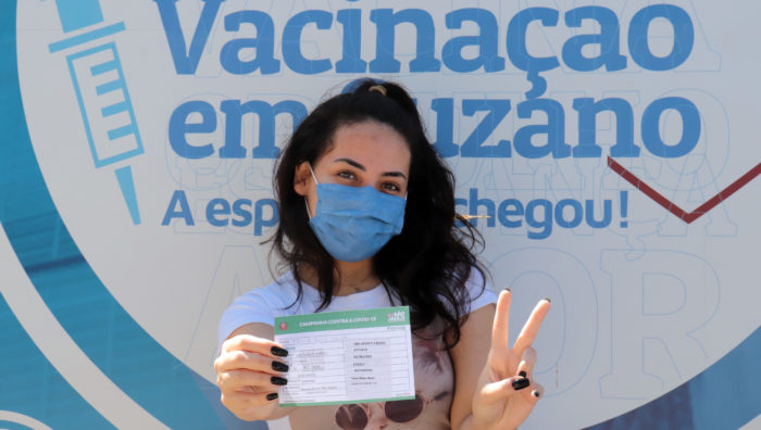 'Passaporte da Vacina' em Suzano