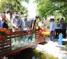 Viveiro Municipal recebe equipe técnica de Ferraz de Vasconcelos