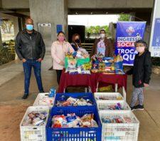 Fundo Social arrecada meia tonelada de alimentos com troca de ingressos
