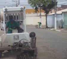 Vila Amorim recebe mutirão de zeladoria