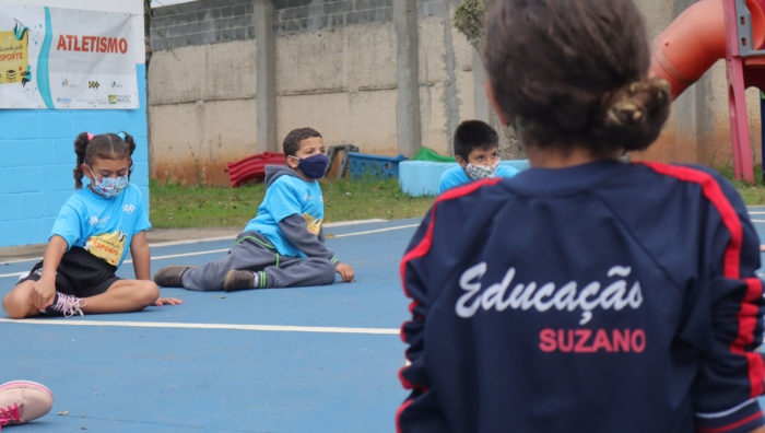 Escola do Jardim Planalto recebe nova edição do projeto 'Educando pelo Esporte'